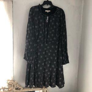 LOFT patterned dress NWT